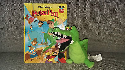 Disney Wonderful World of Reading Peter Pan and soft toy crocodile