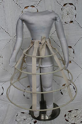 Crinoline Hoop Petticoat for French Fasnion doll 17-19''.