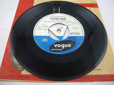 Thurston Harris And The Sharps - Little Bitty Pretty One - Rare Vogue 45 - Ex