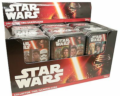 TOPPS - Star Wars - Journey to Star Wars - 1 Display (6 Tin Boxen) - Deutsch