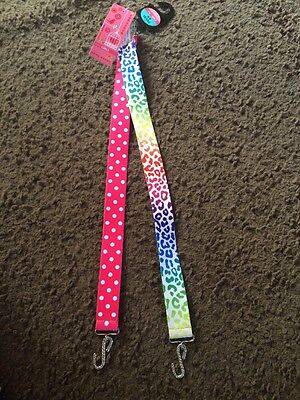 M&S Girls 2 Pack Belts Age 4-6 Years