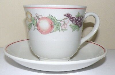 Boots 'Orchard' cup and saucer. Made in England. Good condition.