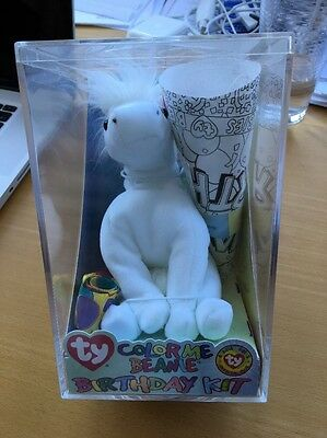TY Beanie Baby - COLOR ME BEANIE The Unicorn