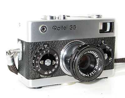 Rollei 35 Made In Germany  Serviced  100% Funzionante Full Working