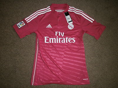 New Adult Real Madrid Away Football Shirt Size S Rrp £60