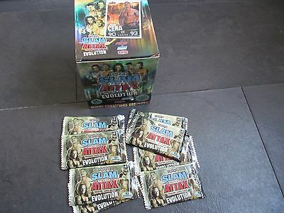 Wwe Topps Slam Attax Box Of 100 Packets