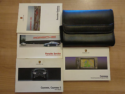 Porsche Cayenne Owners Handbook/Manual and Pack 03-07