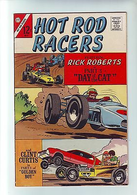 Hot Rod Racers #14 by Charlton comic may 1967