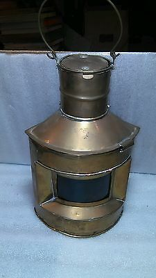 A Hard To Find Vintage Brass Oil Lamp Lantern Made In India!! Nice Piece!!
