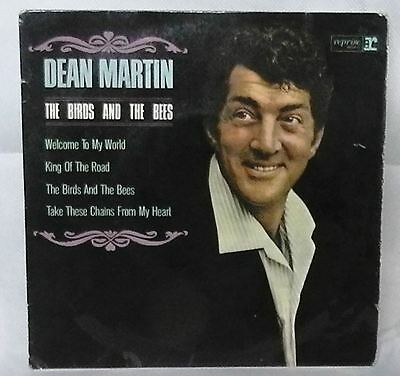 """DEAN MARTIN 7"""" 7 Inch Vinyl Record THE BIRDS AND THE BEES picture sleeve 45RPM"""