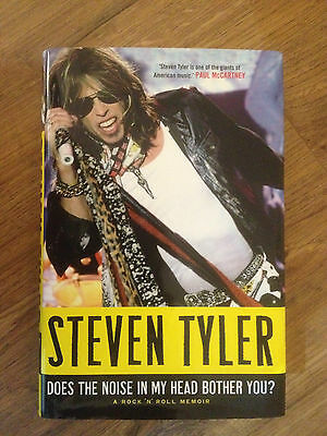 STEVEN TYLER - DOES THE NOISE IN MY HEAD BOTHER YOU - HARDBACK 1st ed 1st Print