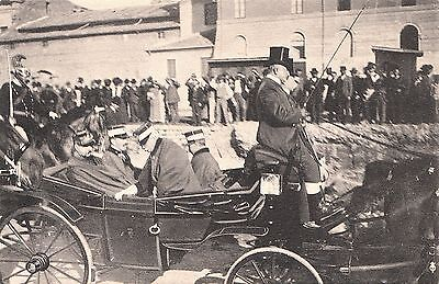Italy. The King Of Greece Visits Rome. Unposted.