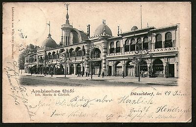Germany. Dusseldorf. Arabisches Cafe. Posted 1899.