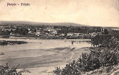 Slovakia, Piestanny. Posted 1913. Message In English.