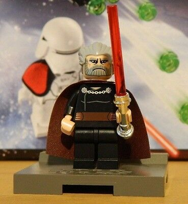 Star Wars Lego sw224 Count Dooku Minifigure