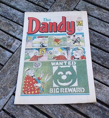 VINTAGE THE DANDY COMIC 19th June 1971 Issue no. 1543