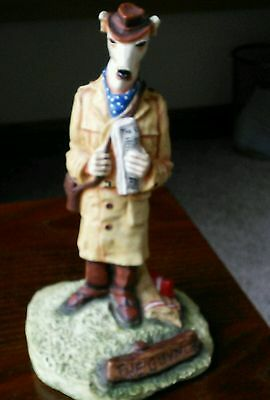 Robert Harrop The County Set ' The Guvnor' Dog ornament collectable