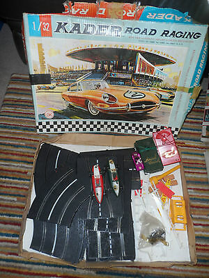Vintage Kader Road racing 1:32 scale road racing set