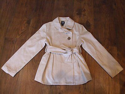 aged 8 - 9 years gap beige Mac Coat girls with belt kids spring summer Winter