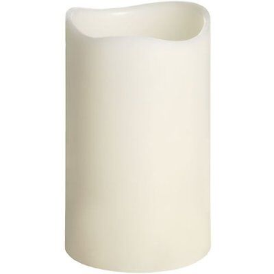Wholesale Joblot Of Led  Ivory Battery Operated Wax Flickering Candles(3 Sizes).