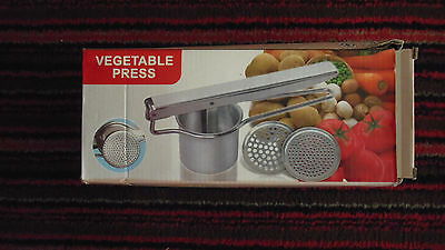 New Boxed Vegetable Press