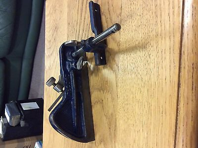 OLD METAL RECORD 040  PLOUGH OR REBATE PLANE with fence