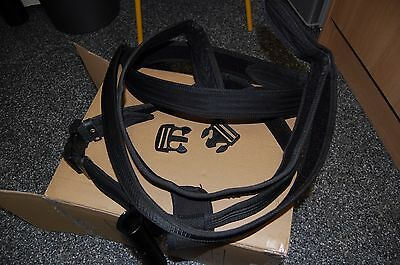 Police Utility Belts (Nylon and Velcro type) one with baton holder and pouch