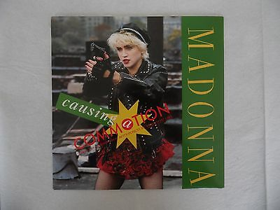 """Madonna - Causing A Commotion - 7"""" Vinyl Single - 1987"""