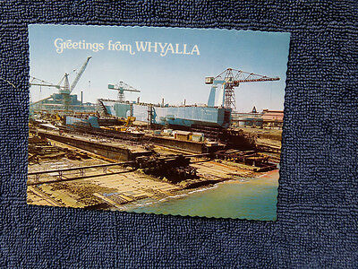 Vintage Australian Postcard. Greetings From Whyalla