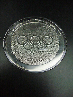 Official London 2012 Olympics Athlete Particpation Medal in Folder, RARE