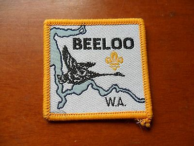 Beeloo Scout District Western Australia Cloth Badge