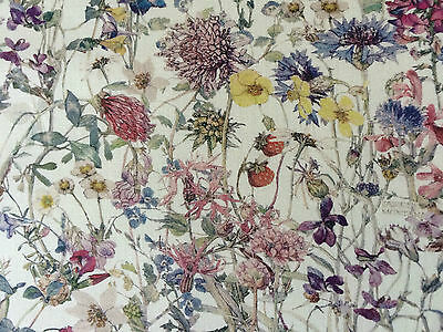 WILD FLOWERS 1.00 METRE by LIBERTY on TANA LAWN COTTON