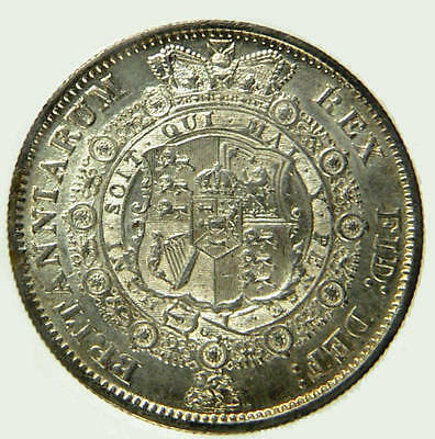 1817 AU Silver George III Silver Half Crown Coin    ☆☆☆ Price Reduced ☆☆☆