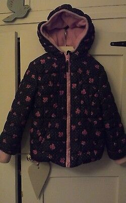 Mothercare girls coat - Age 4-5 rrp £24