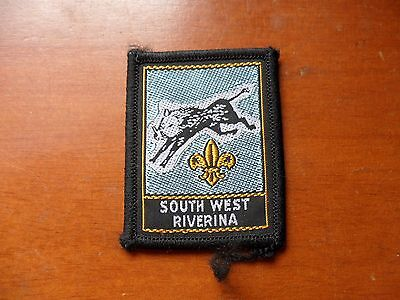 South West Riverina Area NSW Scout Cloth Badge