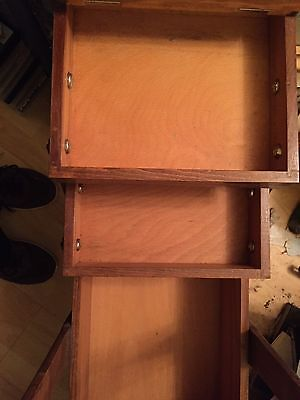Wood Sewing Box / Container