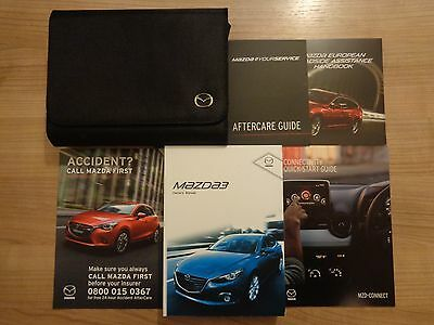 Mazda 3 Owners Handbook/Manual and Wallet 13-16