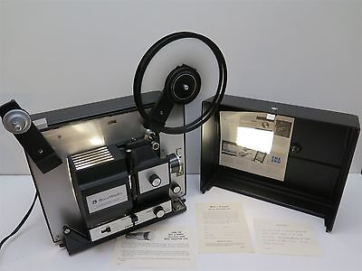Vintage Bell & Howell 458-A Filmosound Super 8 8mm Movie Projector 458A WORKS