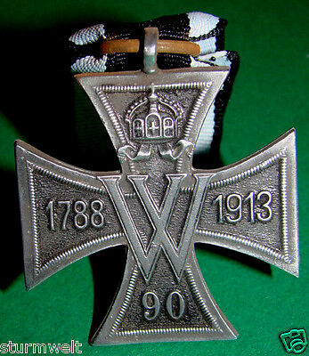 Imperial German Prussian Iron Cross 2st Class 1788-1913 - No Res