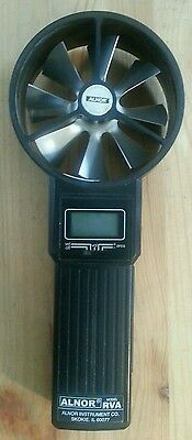 Alnor Model RVA Airflow Anemometer with Carrying Case