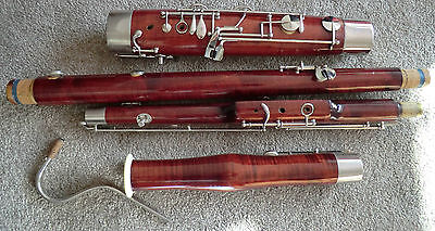 Boosey & Hawkes Lafleur Bassoon with Protech case, crook, handmade wooden crutch