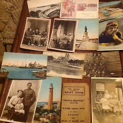 Collection Of Over 150 Postcards & Photos
