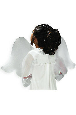 Brand New Heaven's Angel White Wings Costume Accessory