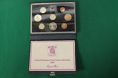 Great Britain 1984 United Kingdom Proof Set - Set of 8 Coins