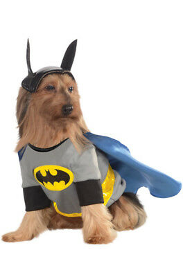 Brand New DC Comics Batman Superhero Pet Dog Costume