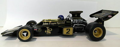 Quartzo 1/18 Scale 18292 Team Lotus Type 72E #2 R. Peterson 1st 1973 Italian GP