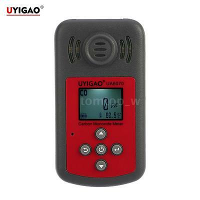 UYIGAO LCD Digital Carbon Monoxide Meter CO Gas Tester Detector With Alarm Z1F4