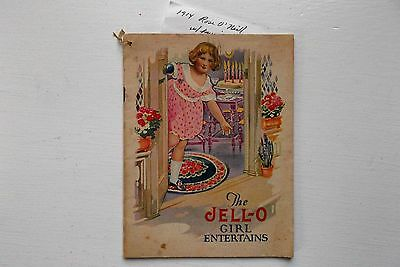 The Jell-O Girl Entertains Booklet 1914