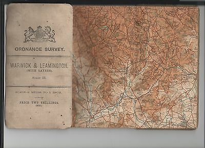 OS map of WARWICK & LEAMINGTON 1908
