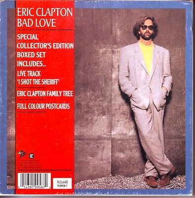 "Eric Clapton ""bad Love"" Box"
